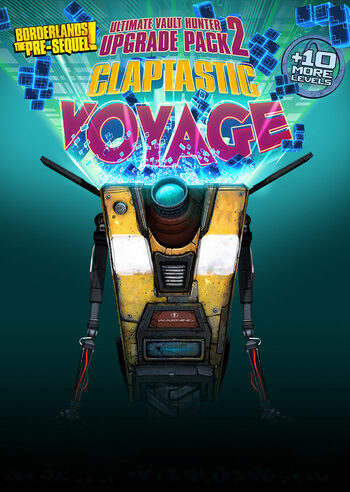 Borderlands: The Pre-Sequel - Claptastic Voyage and Ultimate Vault Hunter Upgrade Pack 2 (DLC) Steam Key EUROPE