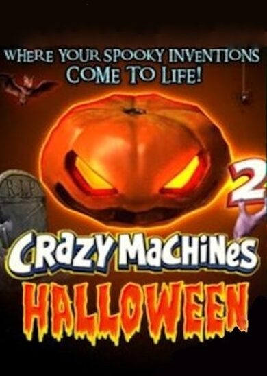 Crazy Machines 2: Halloween (DLC) Steam Key GLOBAL фото