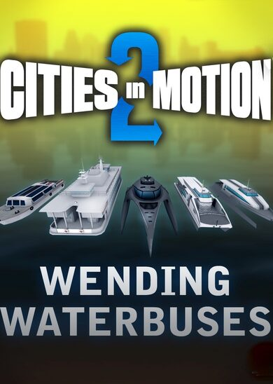 Paradox Interactive / Cities in Motion 2 - Wending Waterbuses (DLC) Steam Key GLOBAL