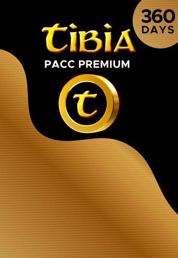 Tibia PACC Premium Time 360 Days Cipsoft Key GLOBAL