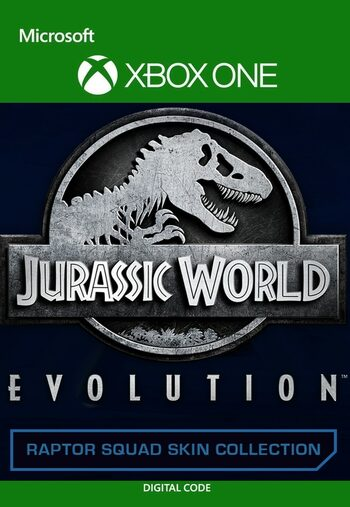 Jurassic World Evolution: Raptor Squad Skin Collection (DLC) XBOX LIVE Key EUROPE