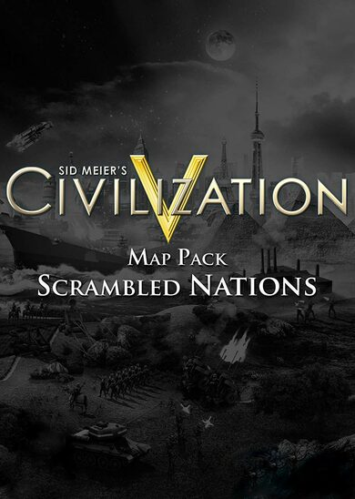 Sid Meier's Civilization V - Scrambled Nations Map Pack (DLC) Steam Key EUROPE