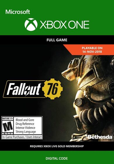 Fallout 76 (Xbox One) Xbox Live Key GLOBAL