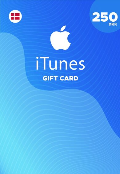 Apple iTunes Gift Card 250 DKK iTunes Key DENMARK