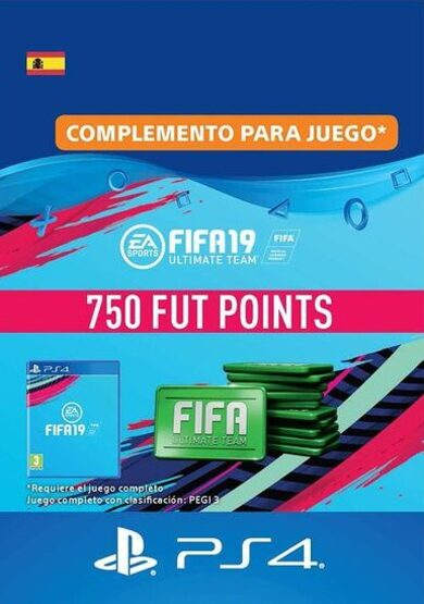 FIFA 19 - 750 FUT Points (PS4) PSN Key SPAIN