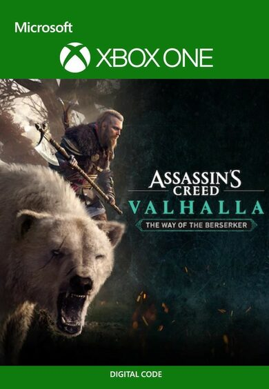 Assassin's Creed Valhalla The Way of the Berserker PS4 Xbox One PS5 Xbox Series X