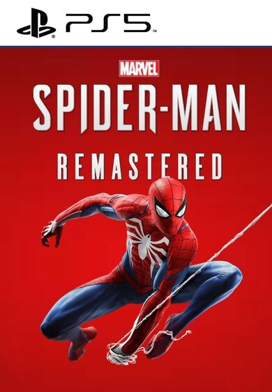 Marvel's Spiderman Remastered PS5