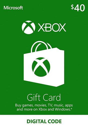 Xbox Live Gift Card 40 USD Xbox Live Key UNITED STATES