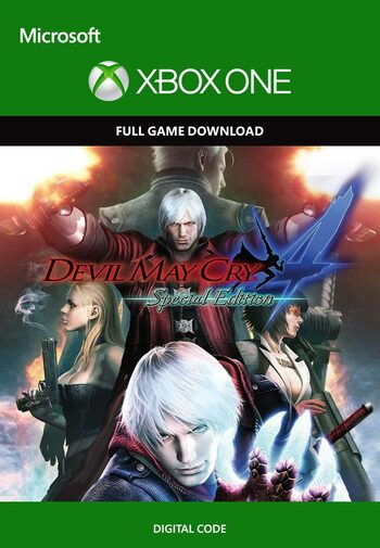 Devil May Cry 4 (Special Edition) XBOX LIVE Key UNITED STATES