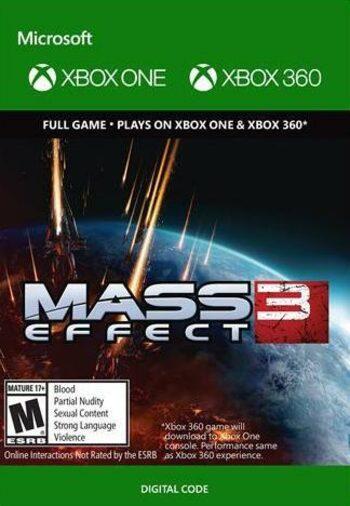Mass Effect 3 XBOX LIVE Key GLOBAL
