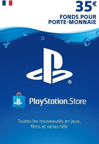 Carte PlayStation Network 35 EUR (FR) Carte PSN FRANCE