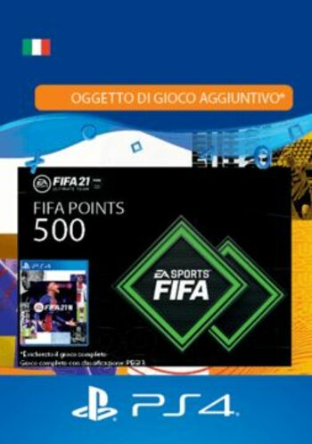 FIFA 21 - 500 FUT Points (PS4) PSN Key ITALY