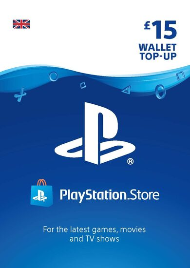PlayStation Network Card 15 GBP (UK) PSN Key UNITED KINGDOM