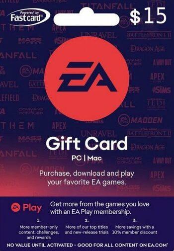 EA Play 15 USD Gift Card Key GLOBAL