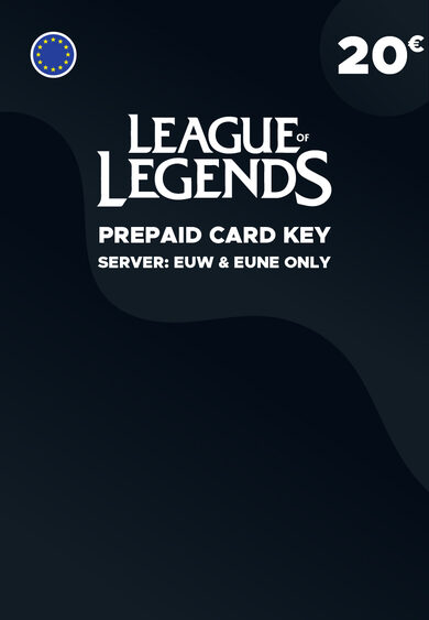League of Legends 20 EUR Prepaid Card Key EUROPE