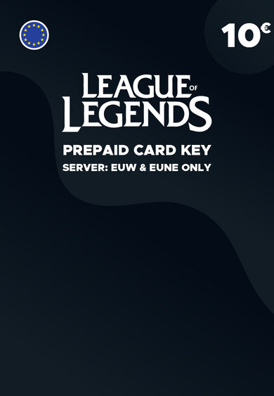League of Legends 10 EUR Prepaid Card Key EUROPE