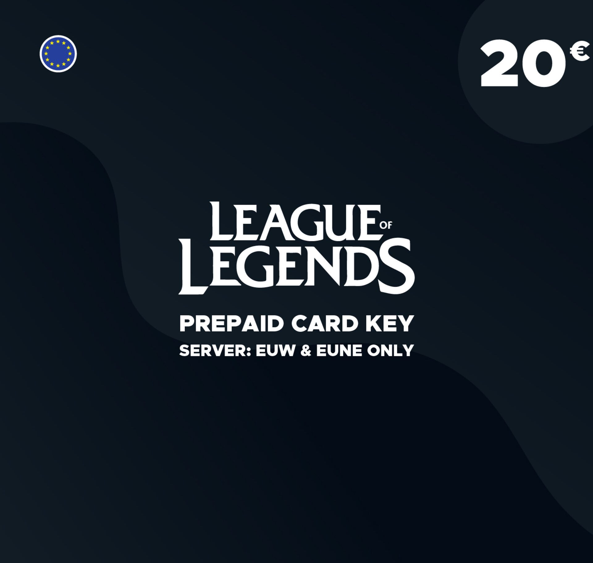 Lol Guthaben Karte.League Of Legends 20 Gift Card Key 2800 Riot Points Europe Server Only