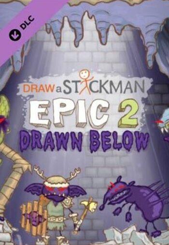 Draw a Stickman: EPIC 2 - Drawn Below (DLC) Steam Key GLOBAL