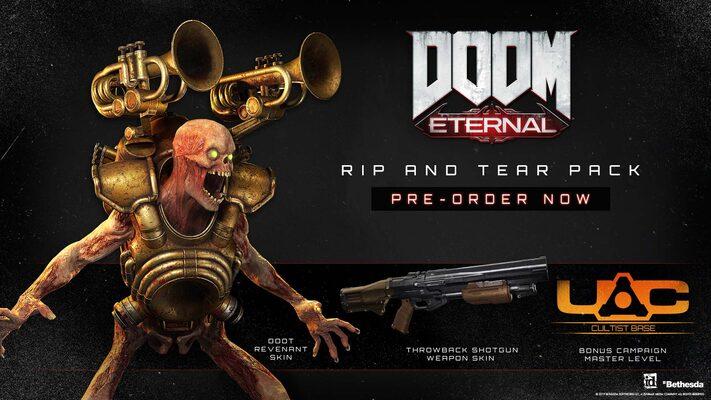 Buy Doom Eternal Rip And Tear Pack Dlc Bethesda Net Key Europe