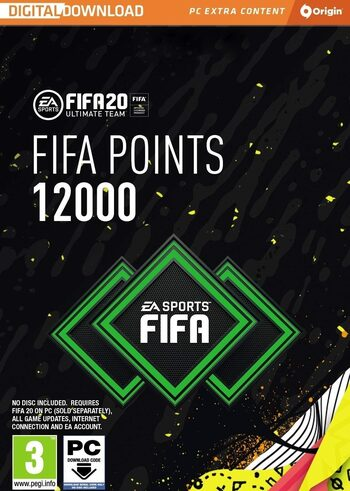 FIFA 20 - 12000 FUT Points Origin Key GLOBAL
