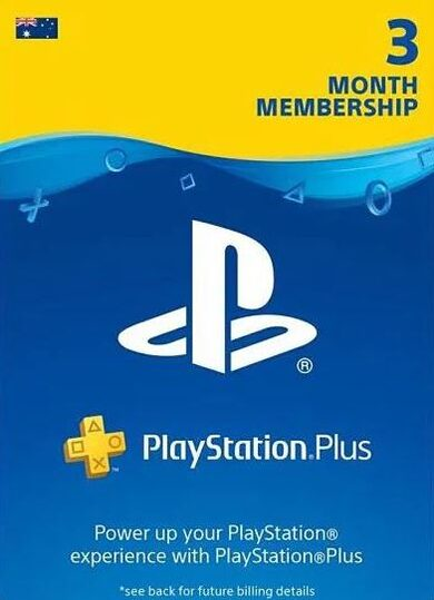 PlayStation Plus Card 90 Days (AU) PSN Key AUSTRALIA