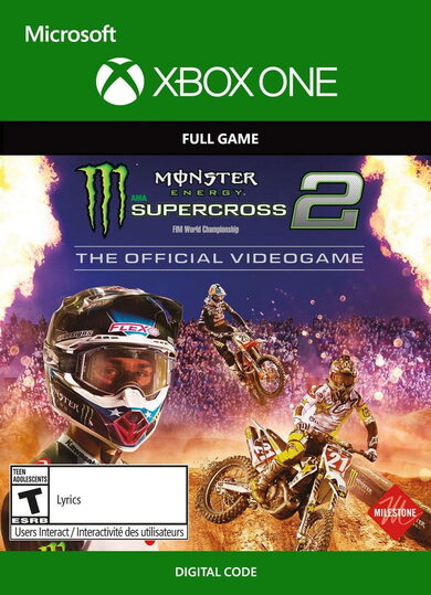Monster Energy Supercross: The Official Videogame 2 XBOX LIVE Key EUROPE