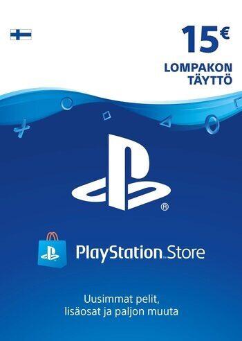 PlayStation Network Card 15 EUR (FIN) PSN Key FINLAND