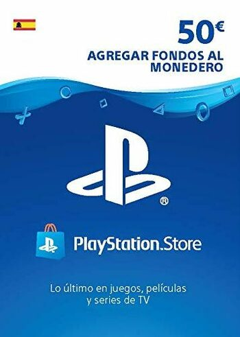 PlayStation Network Card 50 EUR (ES) PSN Key SPAIN