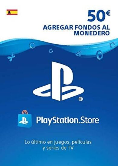 PlayStation Network Card 50 EUR (ES) ESPAÑA