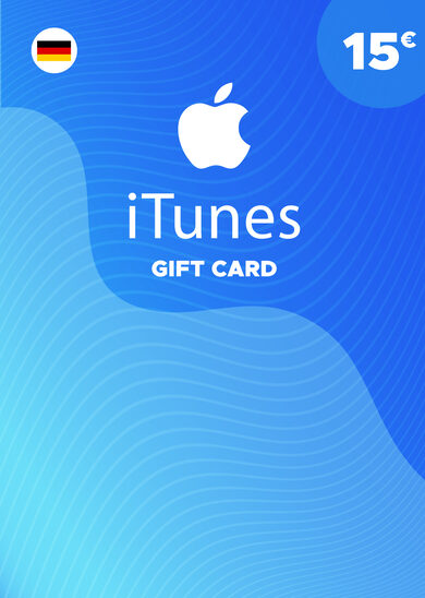 Apple iTunes Gift Card 15 EUR iTunes Key GERMANY