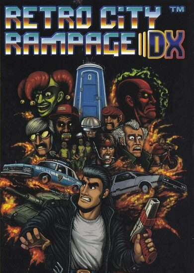 Retro City Rampage™ DX Steam Key GLOBAL