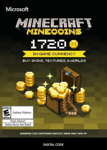 Minecraft: Minecoins Pack: 1720 Coins Key EUROPE