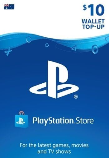 PlayStation Network Card 10 AUD (AU) PSN Key AUSTRALIA