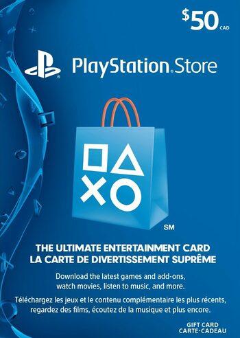 PlayStation Network Card 50 CAD PSN Key CANADA