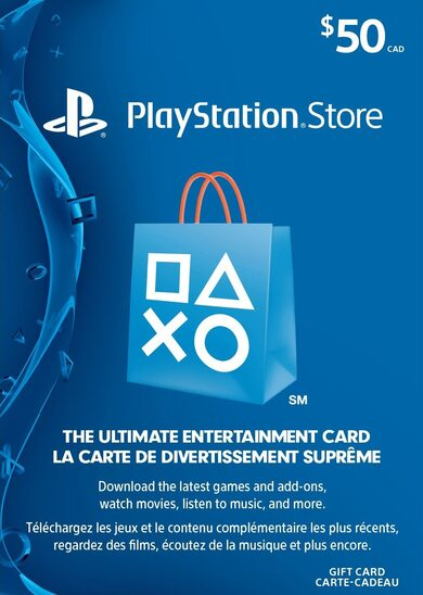 PlayStation Network Card 50 CAD PSN Key CANADA