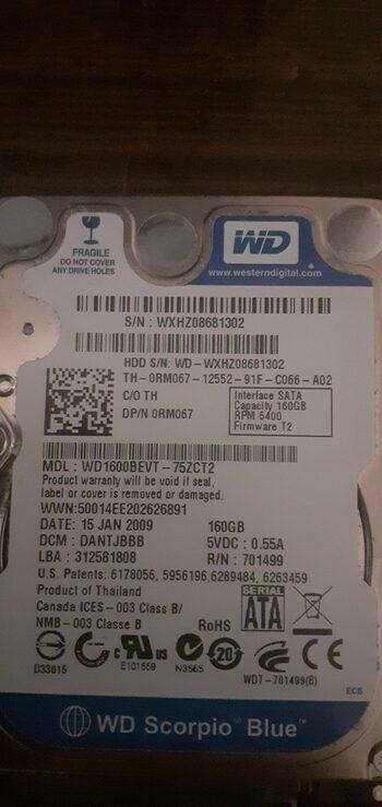 Hitachi 160 GB HDD Storage