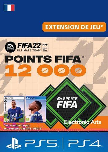 FIFA 22 - 12000 FUT Points (PS4/PS5) PSN Key FRANCE