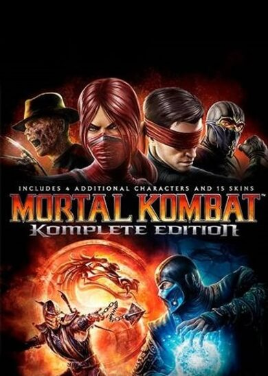 Mortal Kombat (Komplete Edition) Steam Key GLOBAL