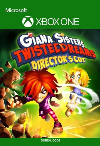 Giana Sisters Twisted Dreams Director's Cut XBOX LIVE Key UNITED STATES