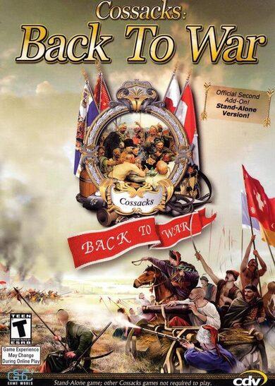 Cossacks: Back to War Steam Key GLOBAL