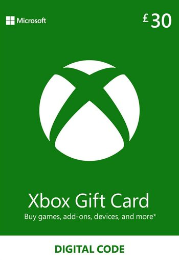 Xbox Live Gift Card 30 GBP Xbox Live Key UNITED KINGDOM