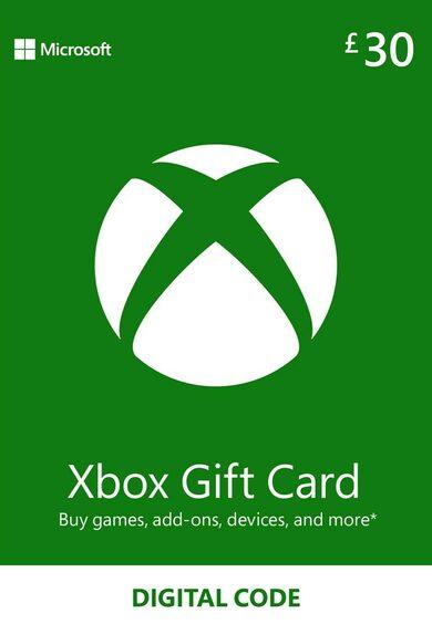 Xbox Live Gift Card 30 GBP Xbox Live Key UNITED KINGDOM