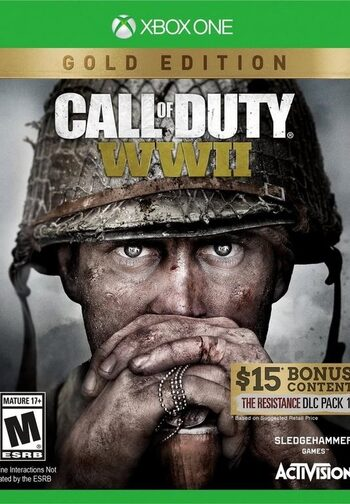 Call of Duty WWII Gold Edition (Xbox One) Xbox Live Key EUROPE