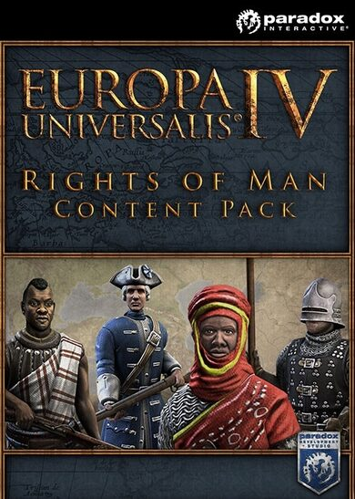 Paradox Interactive / Europa Universalis IV - Rights of Man Content Pack Steam Key EUROPE