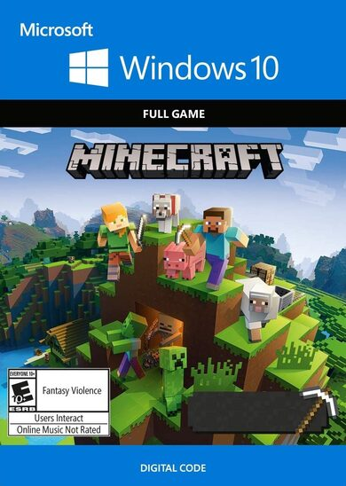 Minecraft: Windows 10 Edition Microsoft Clave GLOBAL