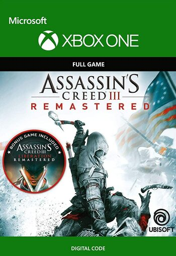 Assassin's Creed III: Remastered (Xbox One) Xbox Live Key GLOBAL