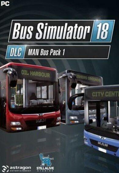 Bus Simulator 18 - MAN Bus Pack 1 (DLC) Steam Key GLOBAL