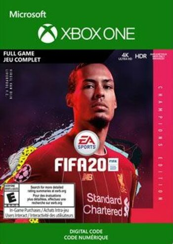 FIFA 20 Champions Edition (Xbox One) Xbox Live Key GLOBAL