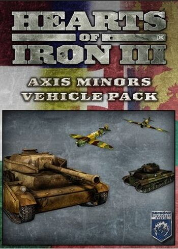 Hearts of Iron III - Axis Minors Vehicle Pack (DLC) Steam Key GLOBAL