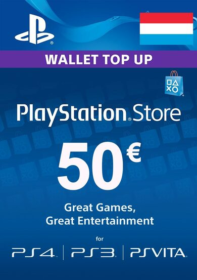 PlayStation Network Card 50 EUR (LU) PSN Key LUXEMBOURG